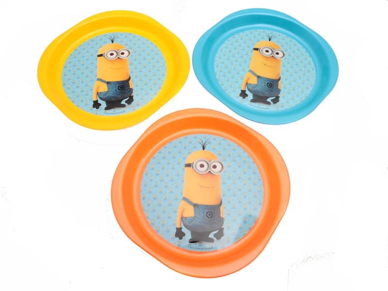 Plastový talíř 3 ks