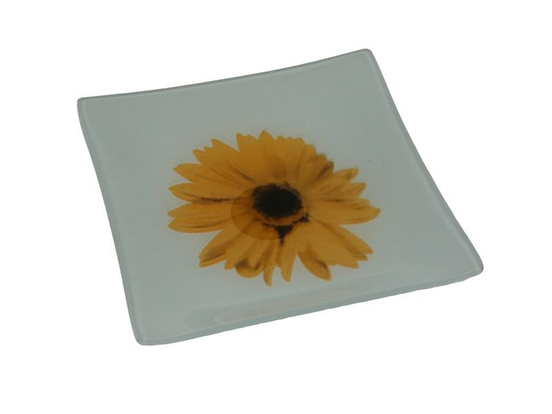Talíř s květem