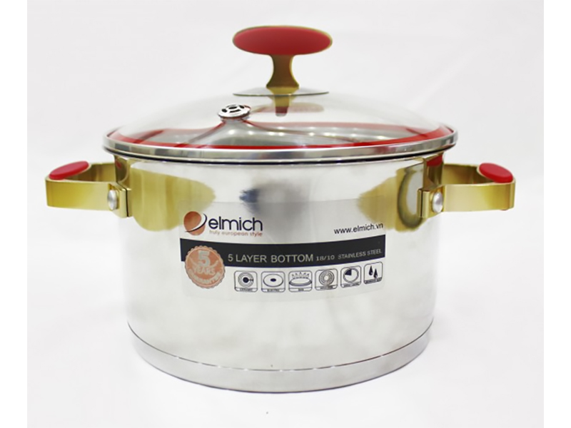 Stainless Steel Pot 22cm